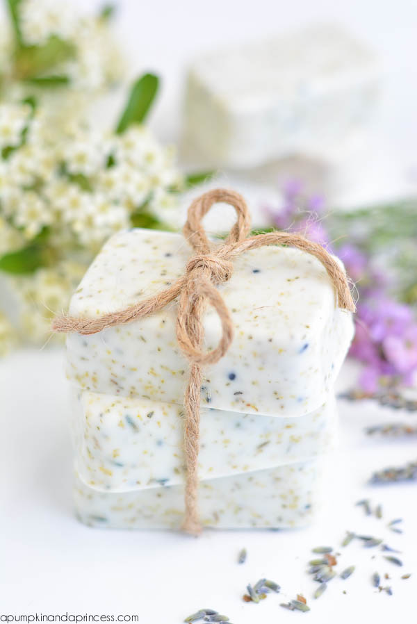 Lavender Chamomile Tea Soap