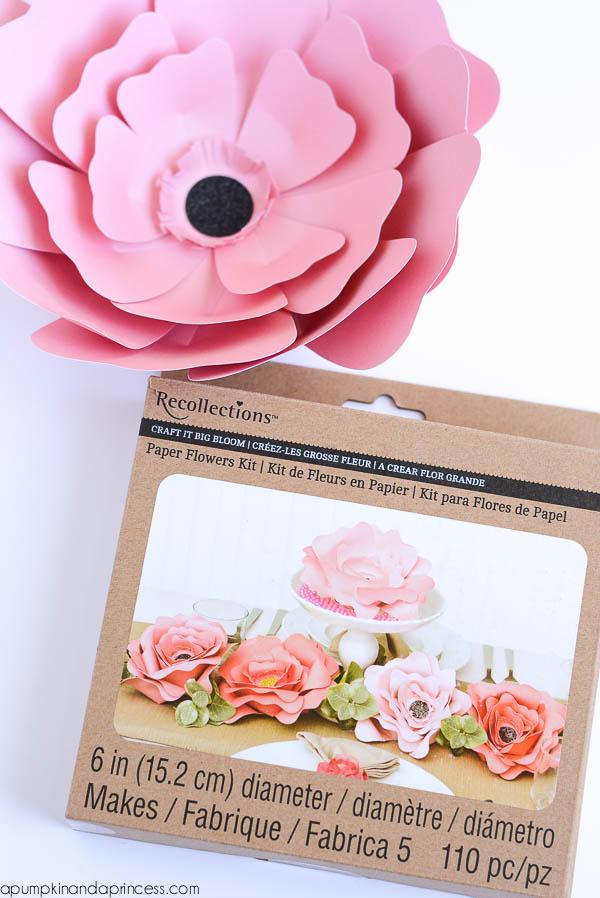 Big Bloom - paper flower kit