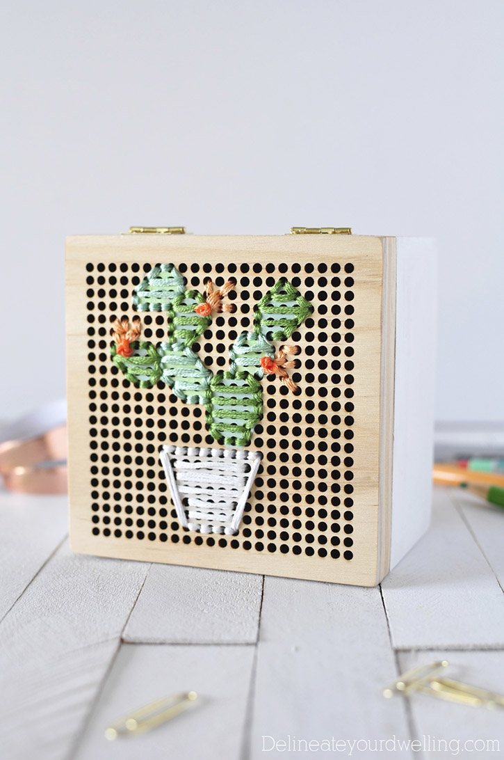 Cacti Embroidery