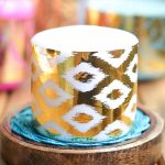DIY Gold Foil Candle Wraps