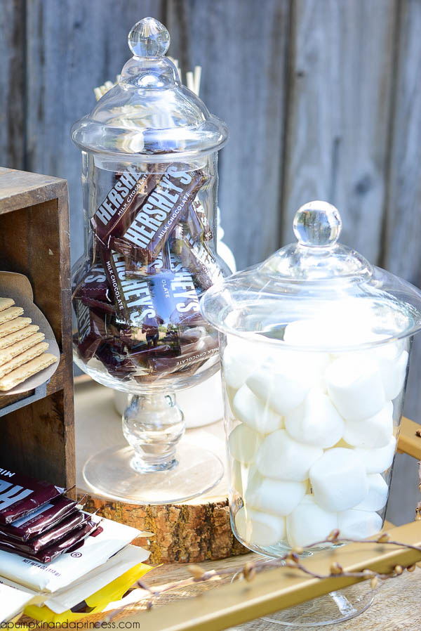 S'mores Bar - Candy Jar Display