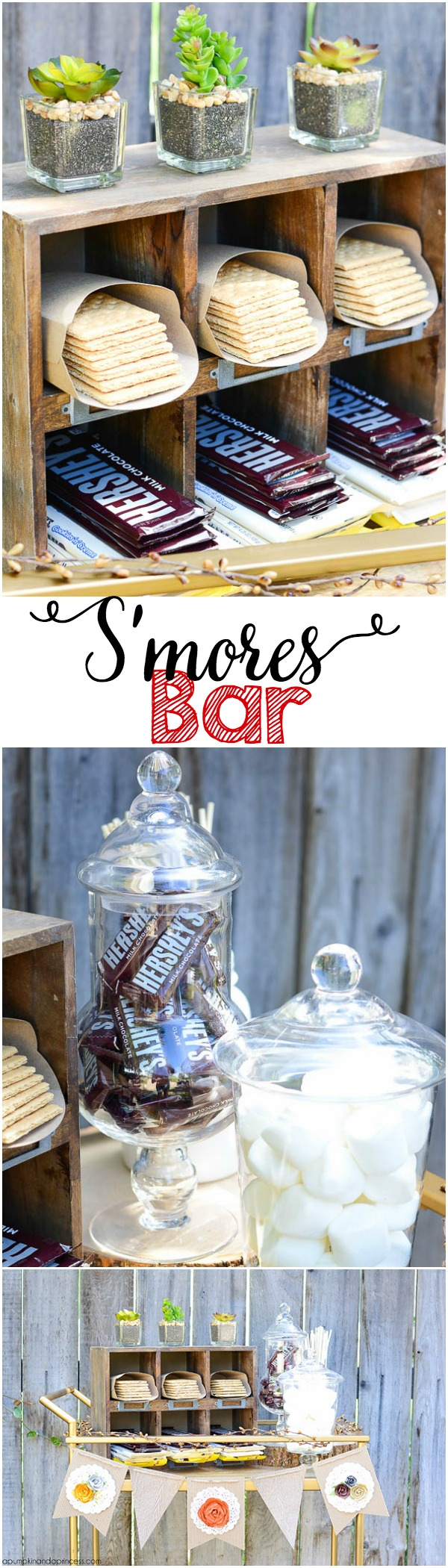 S'mores Bar - Summer Party