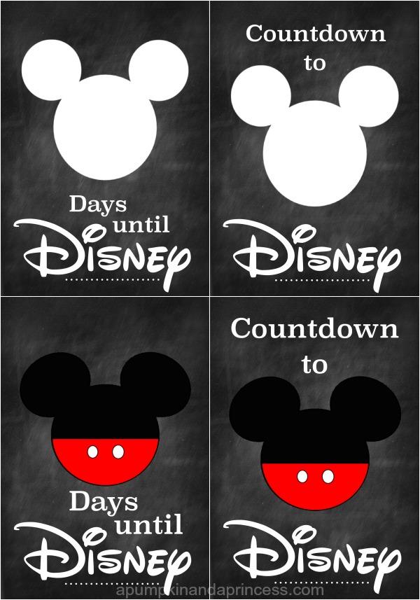 Disney-countdown