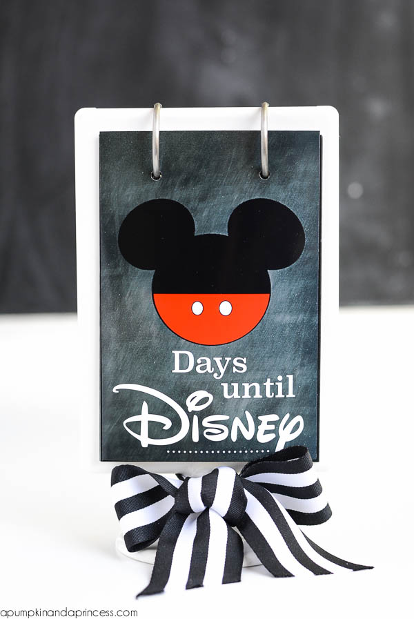 Printable Disney Countdown