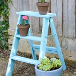 Chalky Finish Vintage Ladder