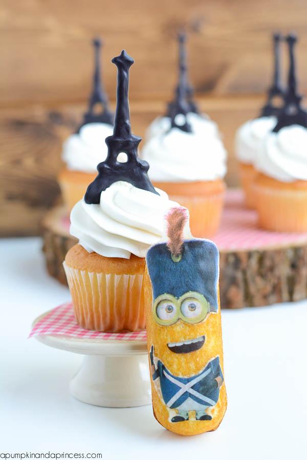 Minions Twinkies - Paris Cupcakes
