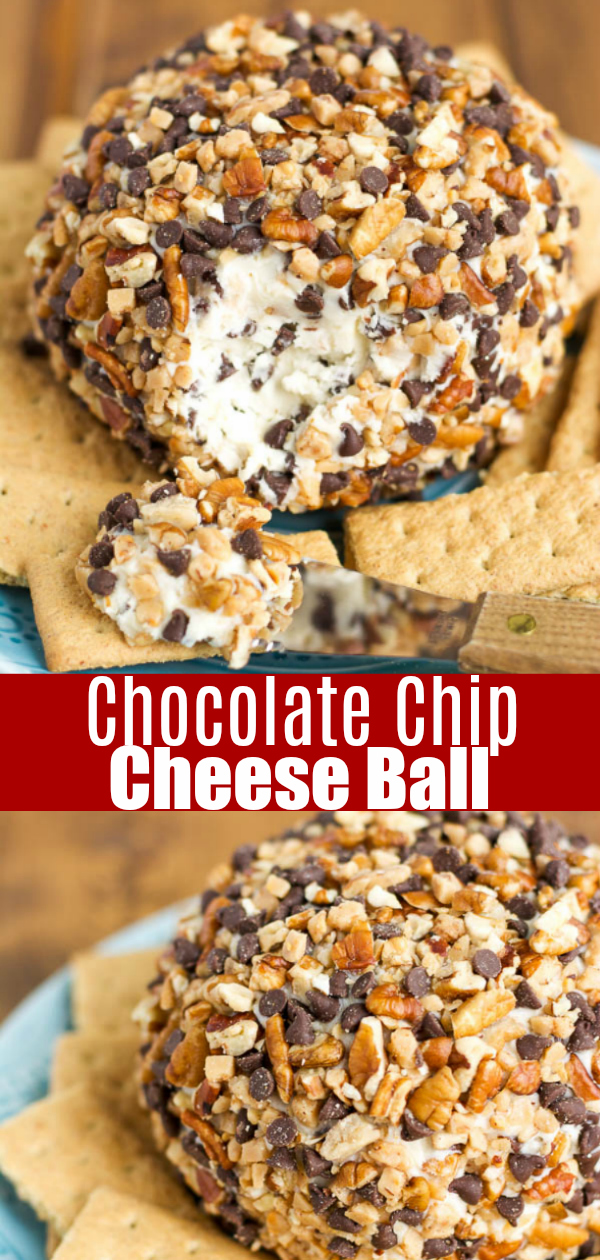 Easy chocolate chip cheese ball recipe