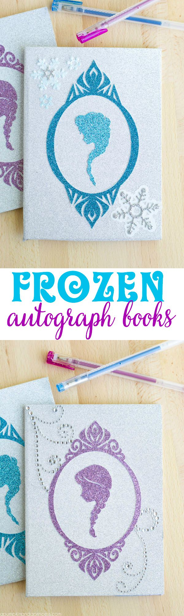 DIY Frozen Autograph Book