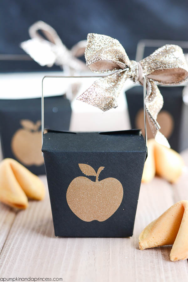 Fortune Cookie Treat Boxes