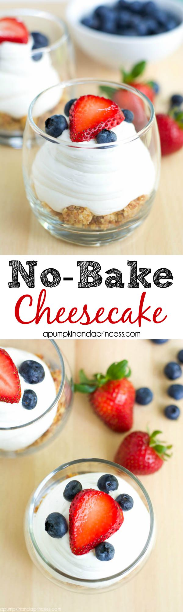 No-Bake Cheesecake in a jar