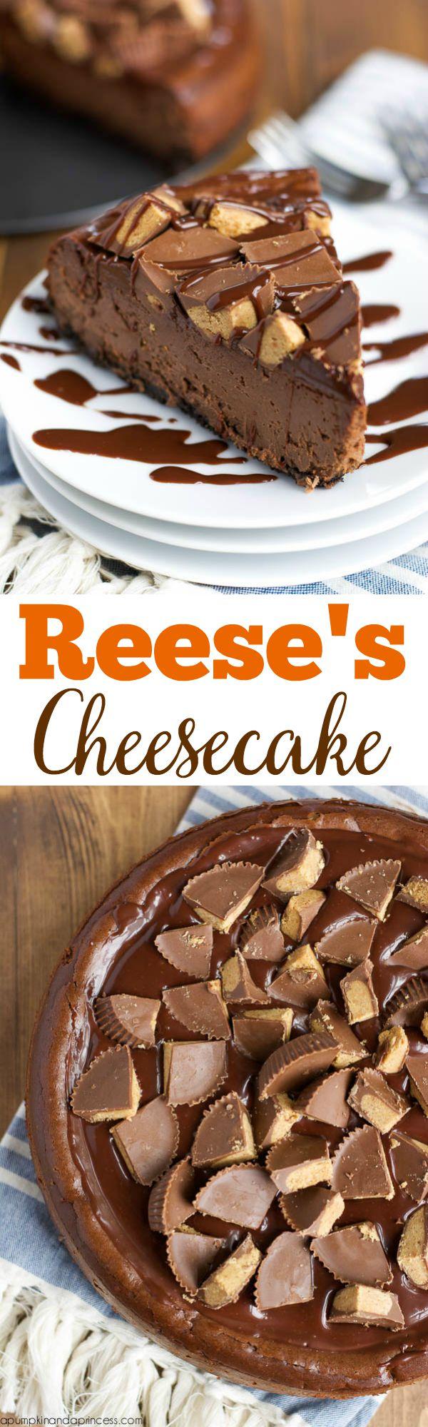 Reese's Chocolate Cheesecake