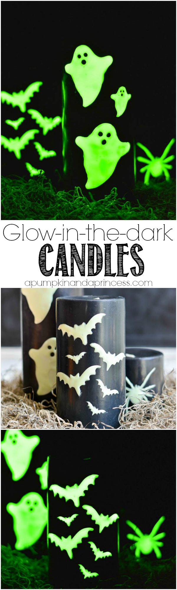 DIY Glow-in-the-dark Candles