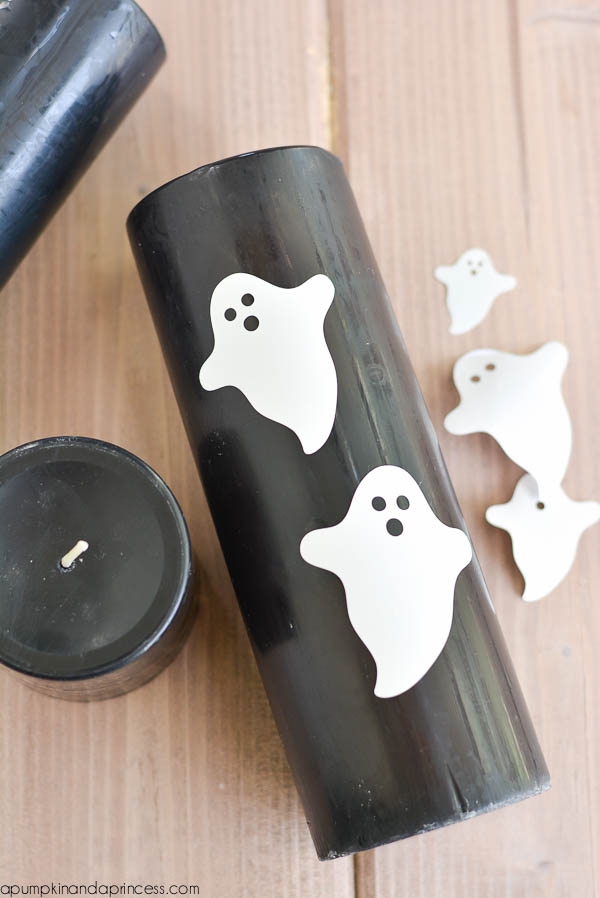 DIY Halloween Candle