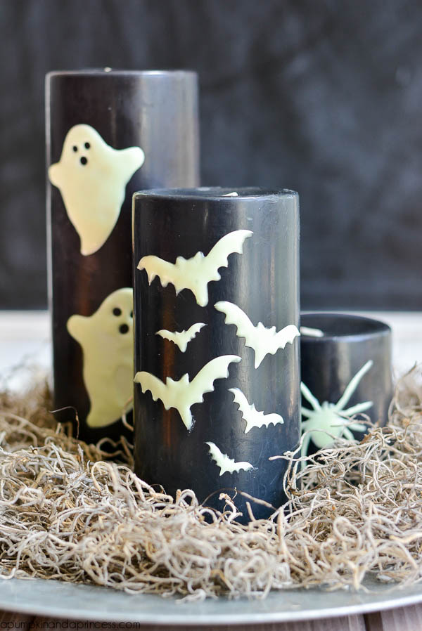 DIY Halloween Candles