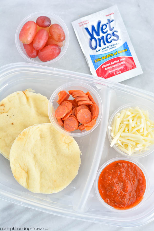 DIY Mini Pizza Lunch Box