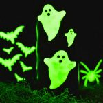 Glow-in-the-dark Halloween Candles