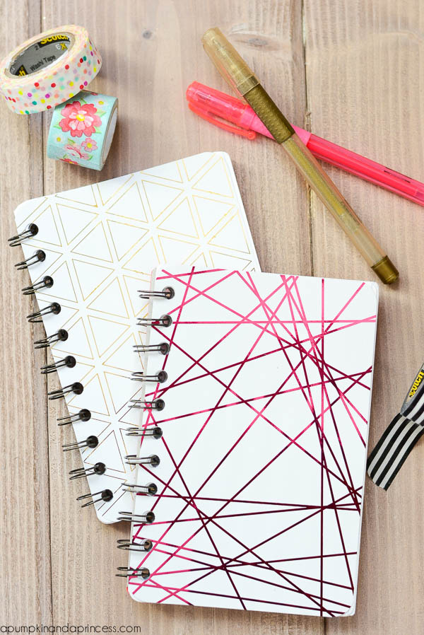 Minc Foil Mini Notebooks