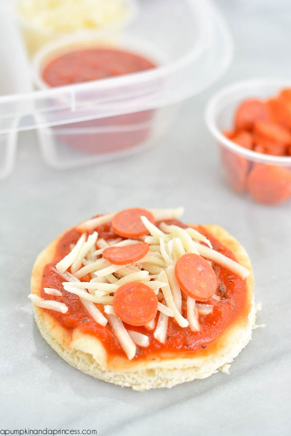 Mini Pepperoni Pizza