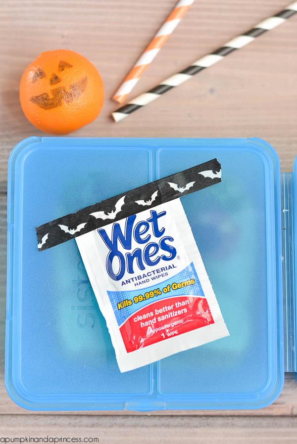 Wet Ones - kids lunch box