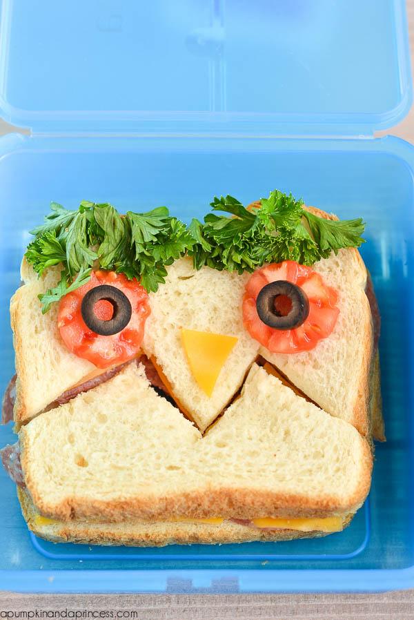 monster sandwich for kids