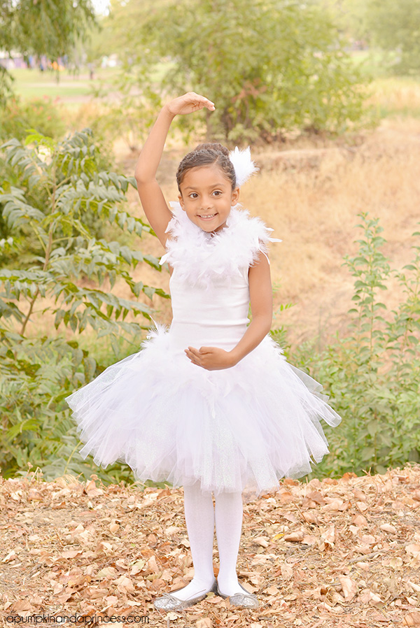 DIY Kids Ballerina Costume