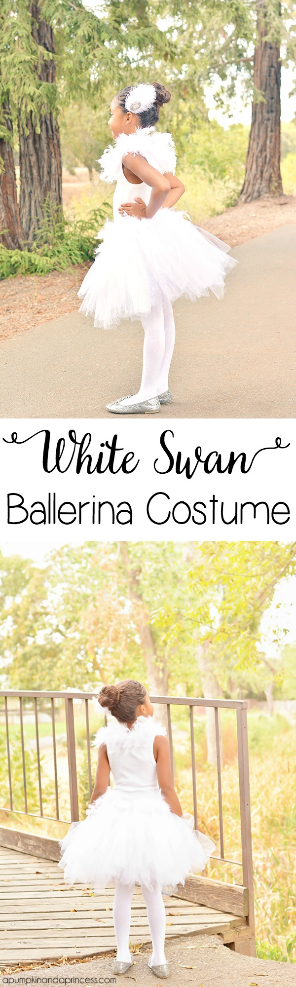 DIY White Swan Ballerina Costume