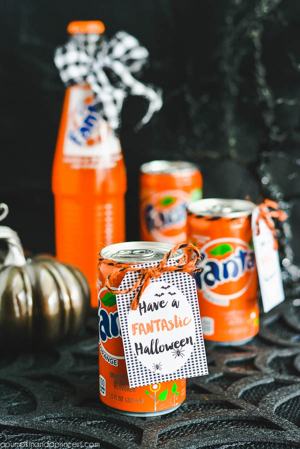 Fanta Gift Idea + Printable