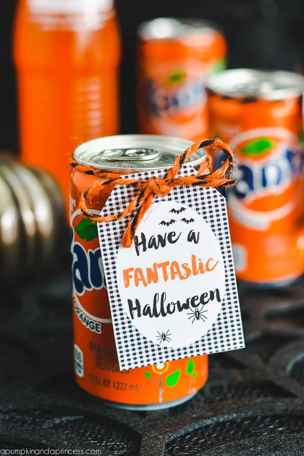 Have a FANTAstic Halloween Printable Tag
