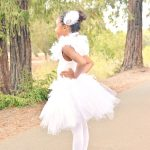 DIY White Swan Costume