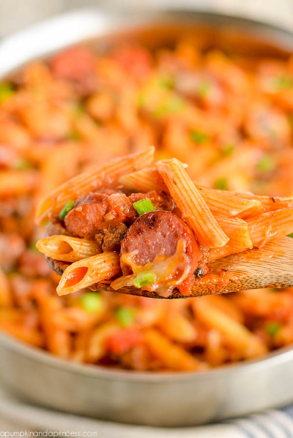 One-Pot Sausage Penne Pasta