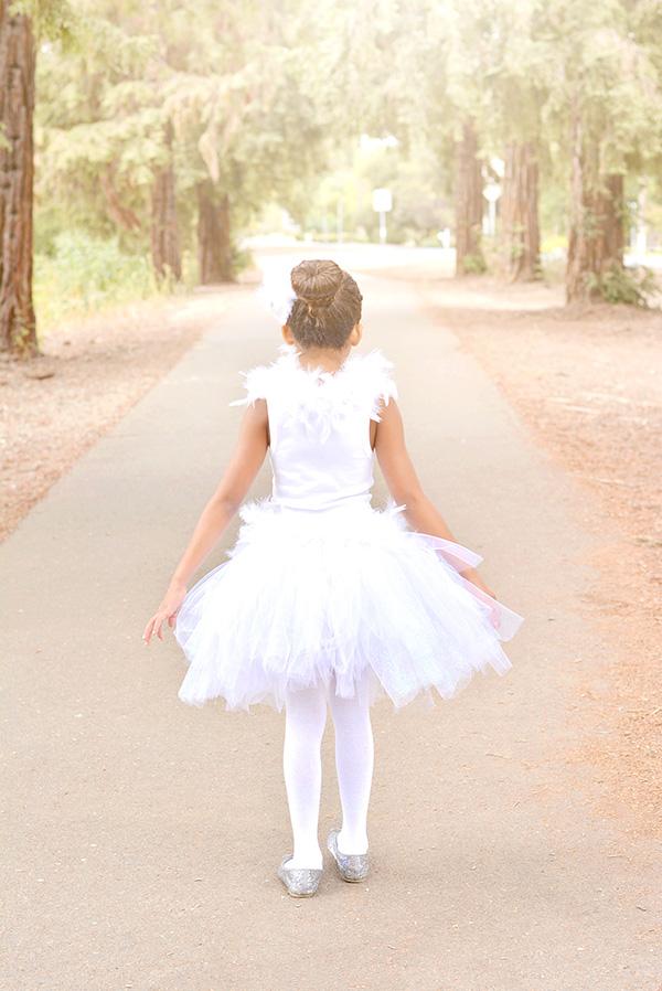 White Swan Ballerina Costume