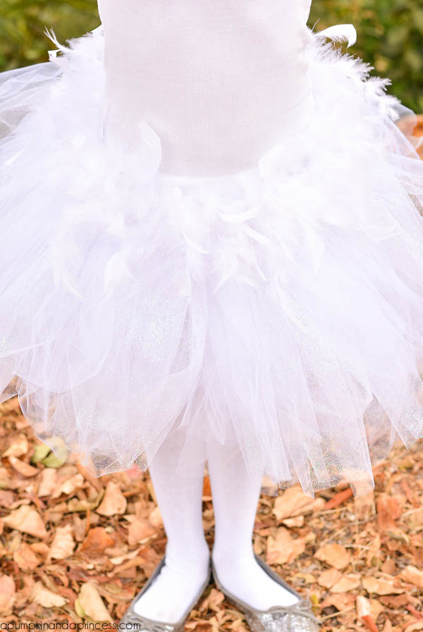 White Swan Ballerina Tutu
