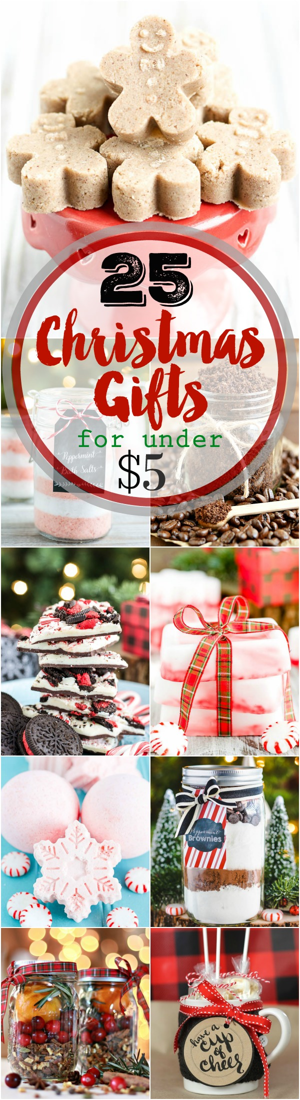 Christmas gift ideas for under $5.00