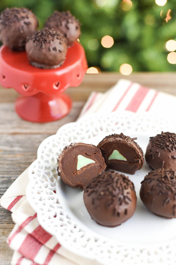 Chocolate Mint Truffles Recipe