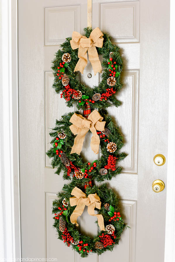 Christmas Wreath Trio