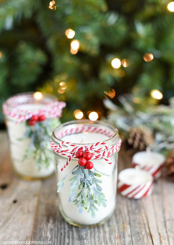 diy peppermint candles you wont believe how easy it is to make your