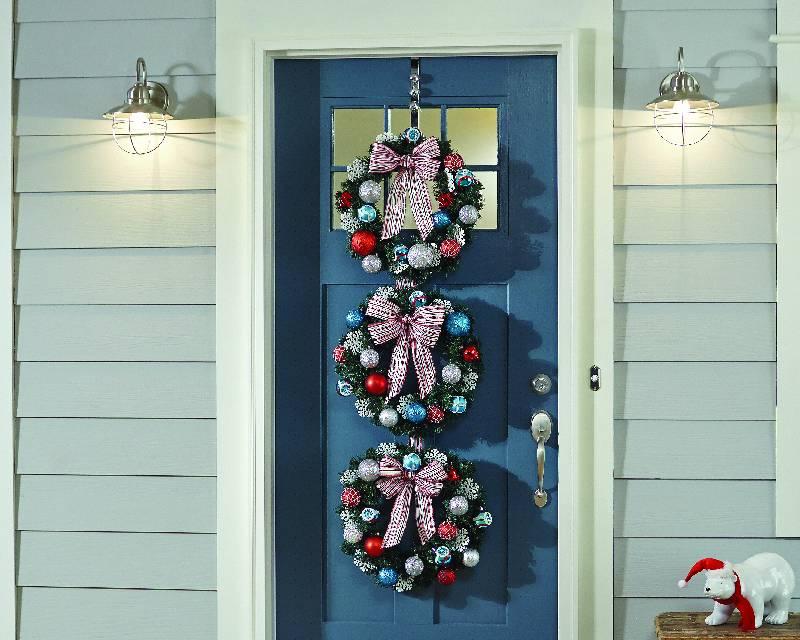 DIY Wreath Trio