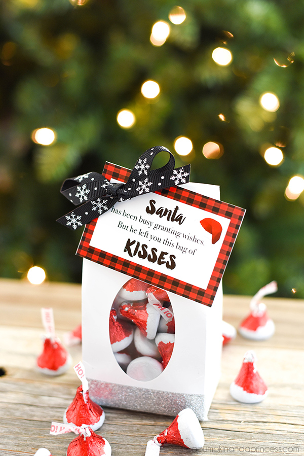 Santa Kisses Treat Bags A Pumpkin And A Princess