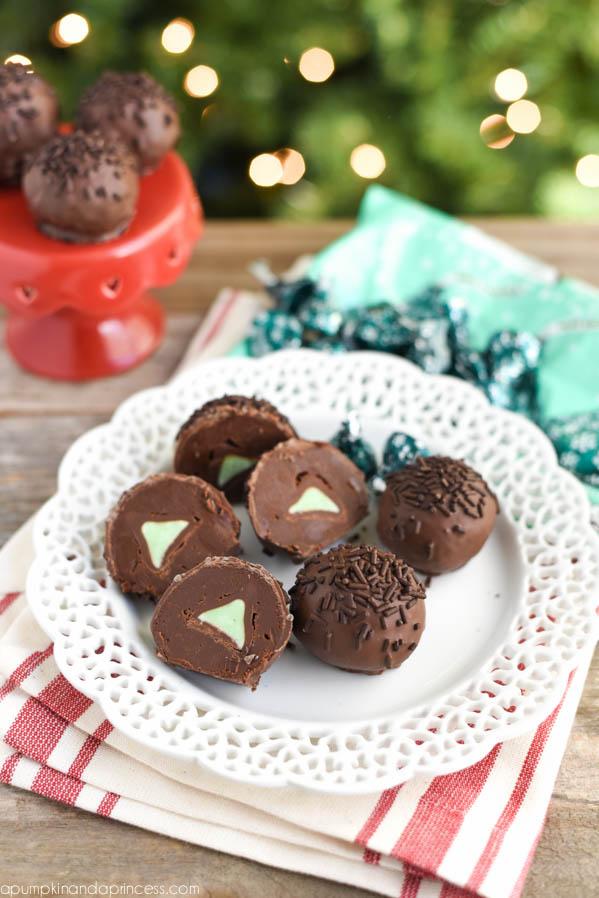 Hershey's Mint Truffles