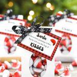 Santa KISSES Treat Bags