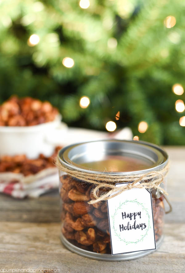 Spiced Nuts Holiday Gifts