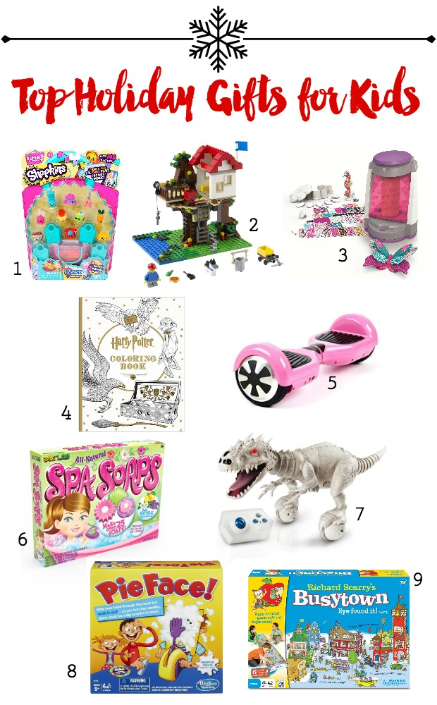 Top Holiday Gifts for Kids - Holiday Gift Guide