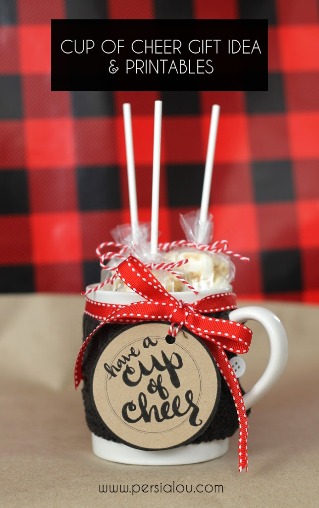 Cup of Cheer cup of cheer gift : homemade christmas gifts for coworkers - princetonregatta.org