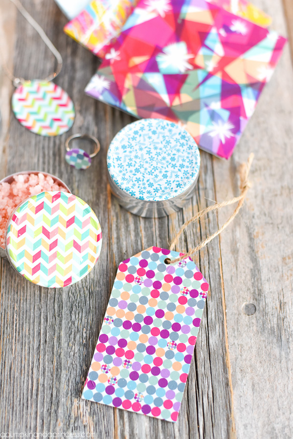 DIY Geometric Gift Tags