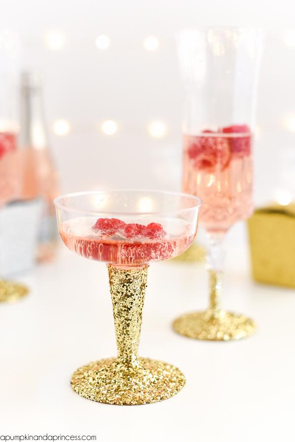 DIY Glitter Cups