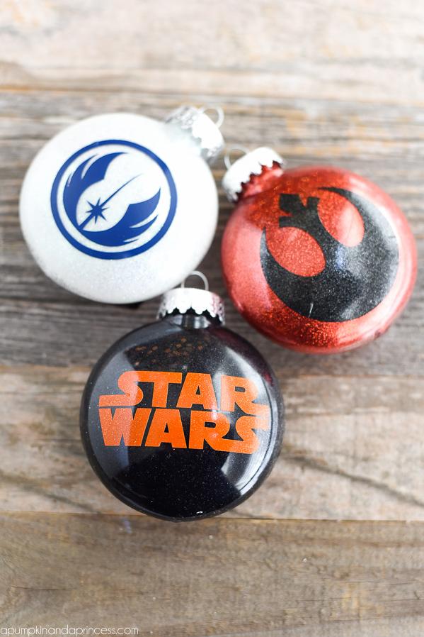 DIY Star Wars Ornaments