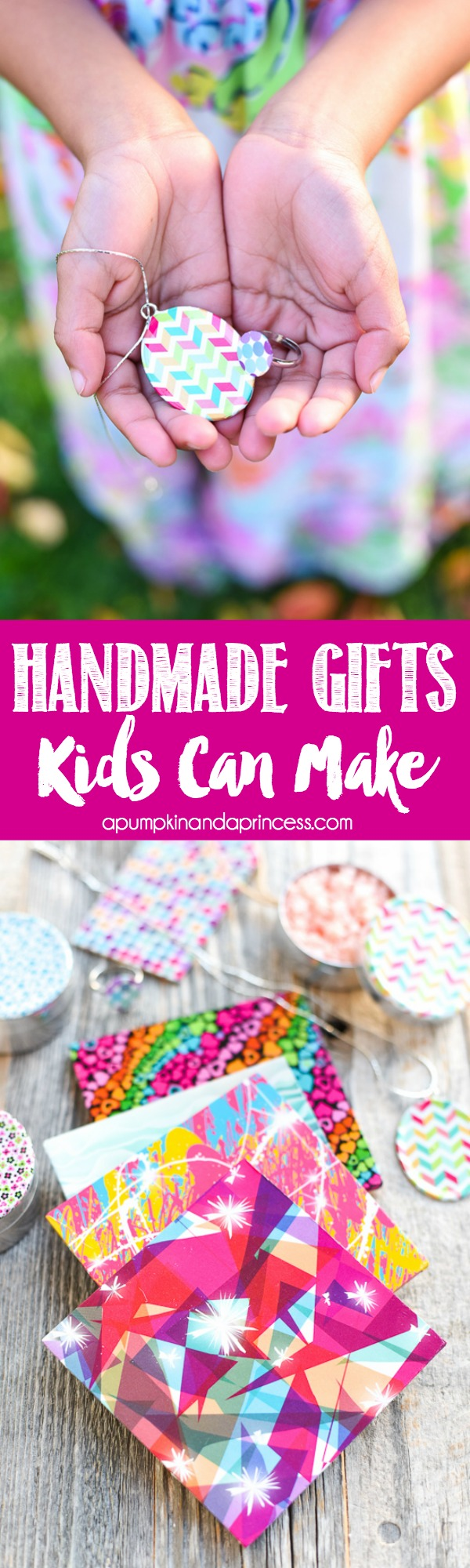 Handmade Gifts Kids Can Make - easy DIY gift ideas