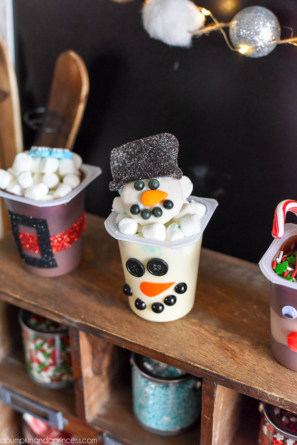 Snowman Treats for Kids