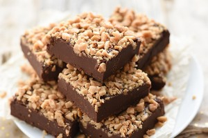 Easy Toffee Fudge Recipe