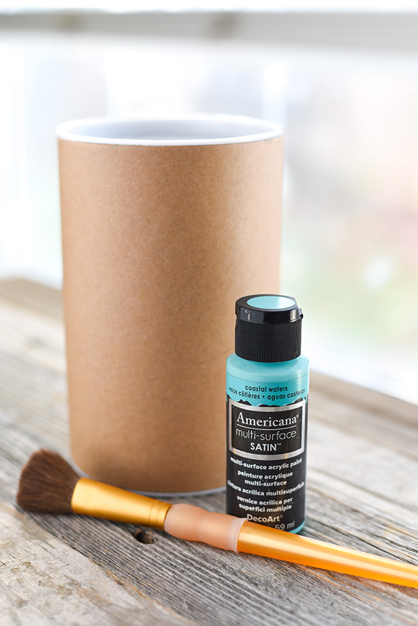 diy painted cookie container